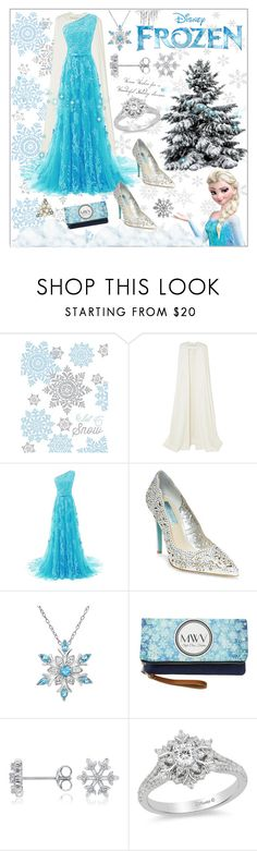 """Elsa Inspired: Disney's Frozen"" by keishadowdy ❤ liked on Polyvore featuring Design Design, Disney, Roland Mouret, Betsey Johnson, disney, cosplay, frozen, elsa and polyPresents"