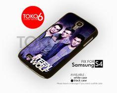 AJ 3876 Teen Wolf Man's - Samsung Galaxy S IV Case | toko6 - Accessories on ArtFire