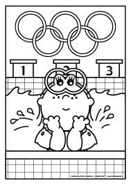 olympische spelen knutselen - Google zoeken Olympic Sports, Olympic Games, Theme Sport, Sports Coloring Pages, Olympics, Snoopy, Comics, School, Rio 2016