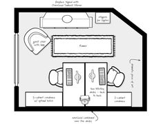 home office ideas layout                                                                                                                                                     More