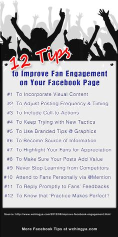 12 Must-Know Tips to Improve Fan #Engagement on Your #Facebook Page