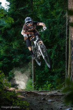 "♂ Forest mountain bike outdoor sport ""Gurten"" by roger gruetter"