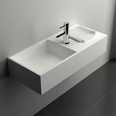 LAVABO MINERAL 75X32.5X15 cm