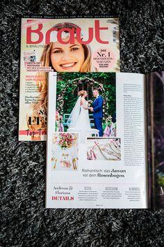 Hochzeit von Florian u. Andrea im Magazin Braut #Christina_Eduard_Photography #Hochzeit #Kloster_Haydau_Morschen #elegante_Hochzeit