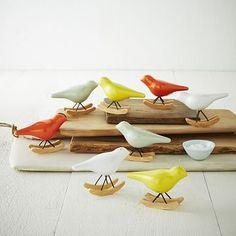 Rocking Bird Salt + Pepper Shaker Set #westelm