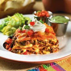 Mexican Lasagna | Yummy Foods | Pinterest | Mexican Lasagna, Mexicans ...