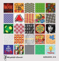 Azulejos Adesivos Decora nº 014 www.mejoganaparede.com.br