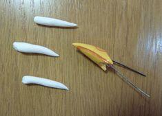 how to make a bird beak