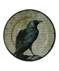 Take a look at this Raven Serving Plate by Grasslands Road on #zulily today!