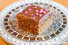 Lys sjokoladekake i langpanne med Nugatti melkesjokoladeglasur