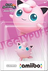 Jigglypuff amiibo Box Art