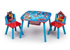Nick Jr. Kids 3 Piece PAW Patrol Table and Chair Set