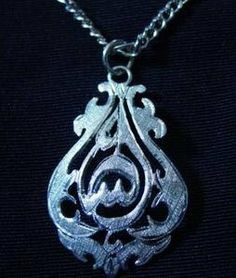new allah islam sterling silver .925 charm pendant islamic jewelry arabic muslim Real Sterling silver 925 pendant Charm jewelryLike this item find it at https://www.etsy.com/shop/princeofdiamonds