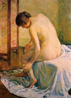 ather Theo van Rysselberghe - Date unknown  Painting - oil on canvas