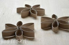 Tp Roll Snowflake Crafts