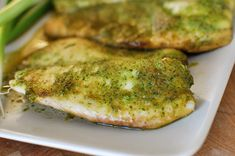 Baked Tilapia with Ginger and Cilantro | Mel's Kitchen Cafe