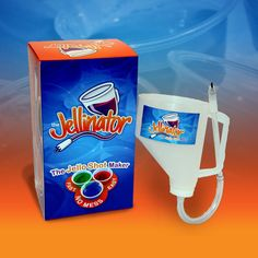 The Jellinator... the MUST HAVE tool for every jello shot maker!!! only $18.99 .. perfect gift!