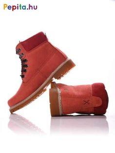 Timberland Boots, Red, Shoes, Fashion, Moda, Zapatos, Shoes Outlet, Fashion Styles, Shoe