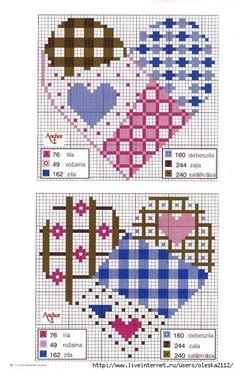Схемы вышивки крестом.Вышиваем с телефона | VK