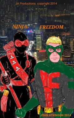 Ninja and Freedom.  Copyright 2014.