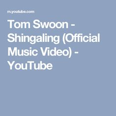 Tom Swoon - Shingaling (Official Music Video) - YouTube