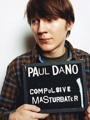 revealing placard - Paul Dano