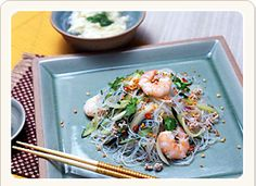 ヤムウンセン(タイ風春雨サラダ)の写真