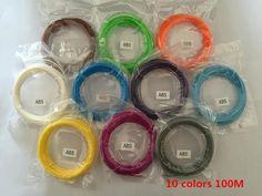 2 Colors Choose 3D Drawing Pen 1.75mm ABS/PLA Filament 3D Pen With LED Screen Best Gift for Kids 3D Printer Pen