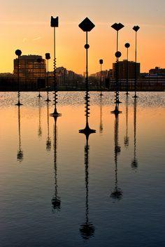 Bassin Takis, Esplanade de la Défense, Paris