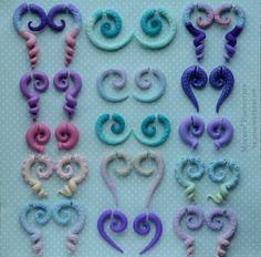 Плаги- обманки в уши, имитаторы тоннелей щупальцы осьминога