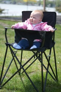The ciao! baby® portable high chair is an innovative, practical solution for families on the go! travel, picnics, camping, vacations, tailgating, and grandma's house! - Free standing chair - Requires