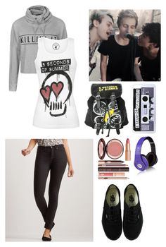 """5SOS Imagine for @onedirection-5sos-lover!"" by allisonawesome7 ❤ liked on Polyvore featuring Ally Fashion, Aéropostale, Vans, Charlotte Tilbury, Beats by Dr. Dre and allisimagines"