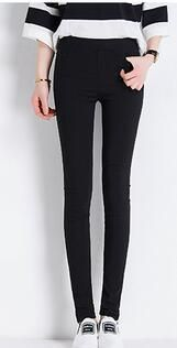 6 Colors S-3XL Candy Colored Skinny Leggings Stretch Summer Trousers