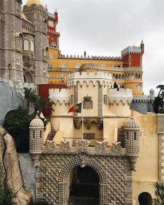 #architecture #castle #quintaderegaleira #sentra #portugal #picodeviaje