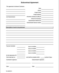 Handyman Business Estimate Form | Proposals
