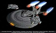 I thought they should have done this to Enterprise E after the run in with Shinzon Star Trek Fleet, Star Trek Show, Star Trek Series, Spaceship Art, Spaceship Concept, United Federation Of Planets, Starfleet Ships, Alien Ship, Star Trek Characters