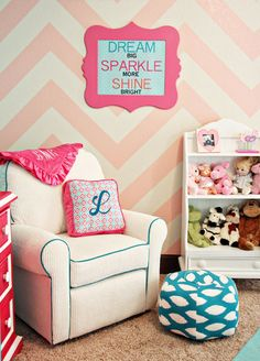adorable nursery nook <3