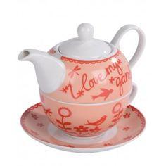 I Love My Garden - Tea for One