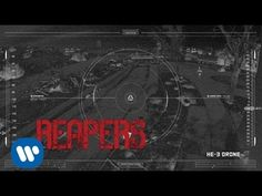 "Muse - Reapers [Official Lyric Video] from DRONES. ""Home. It's becoming a killing field. There's a crosshair locked on my heart...."" <3"
