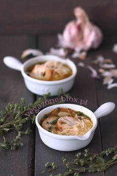 Czeska czosnkowa czyli česneková polévka Ramen, Ethnic Recipes, Food, Essen, Meals, Yemek, Eten