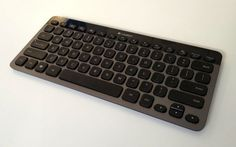 Logitech K810 Bluetooth keyboard, pairs with 3 devices simultaneously, $99.99