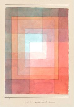 Colores neutros y grises Armonía geométrica, Klee