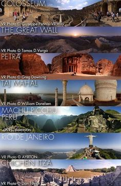 Fascinating Pictures ‏@Fascinatingpics 14h RT if you want to see all 7 wonders of the world! pic.twitter.com/7r0hVcCamw