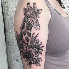 Giraffe Tattoo 120