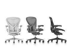Aeron Chairs Adjustable PostureFit SL