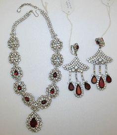 Jewelry set Designer: Sophie Gimbel (American, Houston, Texas 1898–1981 New York) Date: 1967 Culture: American Medium: metal, glass
