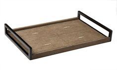 R&Y Agousti classic shagreen tray