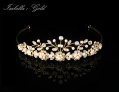 Rhinestone & Crystal Tiara / Wedding Crown by AnniesShowroom3, $50.00
