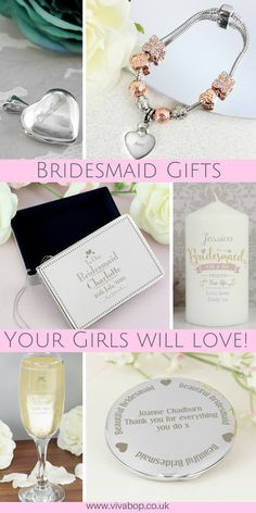 Bridesmaid Gifts Your Girls Will Love!   Personalised Bridesmaid Gifts