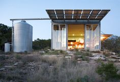 Mell Lawrence Architects: Mod Cott on the Lake.  Low Energy Guest House.